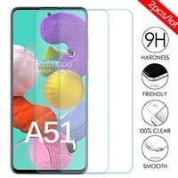 2pcs Lot Protective Glass For Samsung A51 Screen Protector For Samsung Galaxy A52 A72 A32 A12 A21S A515F A 51 Tempered Glas Film