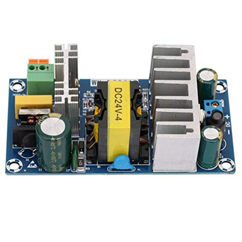 Switching Power Supply Module Ac 110V 220V to Dc 24V 6A Switching Board Promotion Panel Splitter 60H