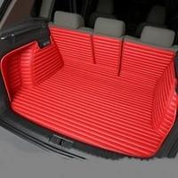 full covered waterproof boot carpets durable custom special car trunk mats for mercedes benz audi honda peugeot buick ssangyong