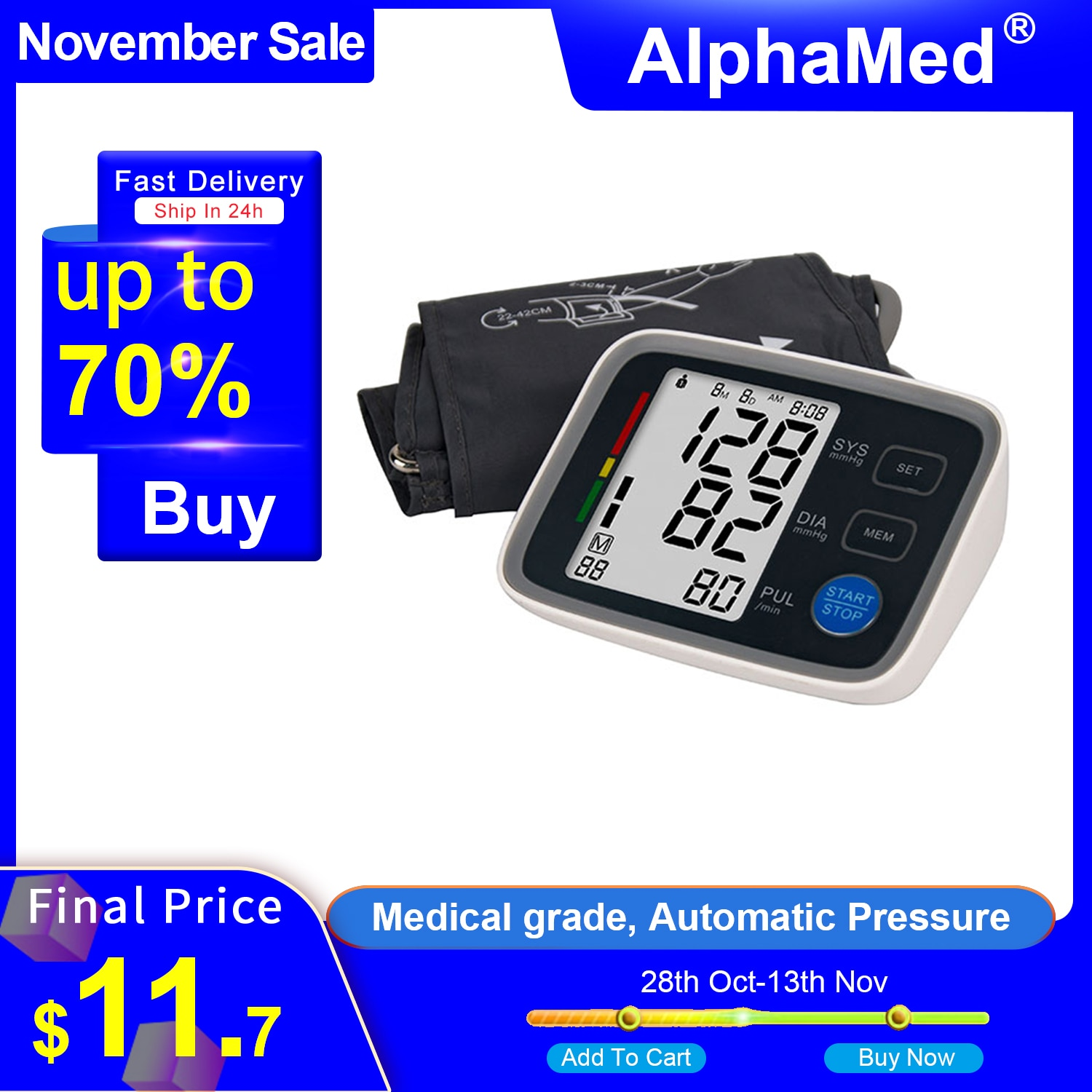 Фото - A Blood Pressure Monitor Sphygmomanometer CE ISO Approved BP Machine Pressure Monitors Digital Upper Arm Blood Pressure Monitor blood pressure monitor upper arm automatic digital blood pressure monitor cuff home bp sphygmomanometers with large lcd display