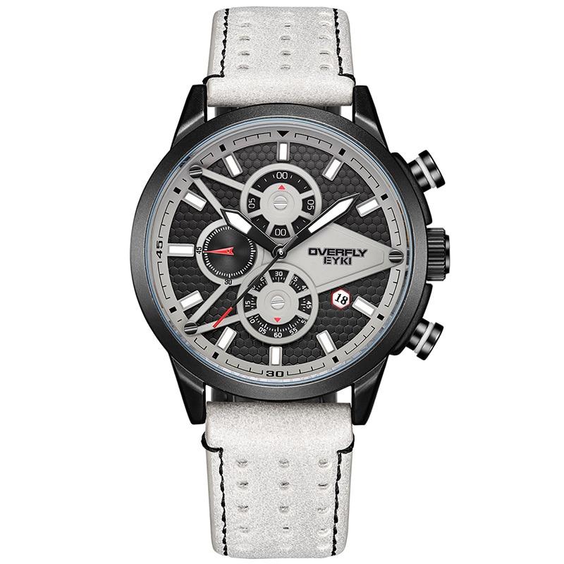 Quartz Watch Men's Top Ten Brand Sports Trend Multi-functional Large Dial Male Watch Student Waterproof Gas