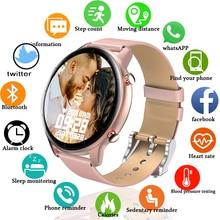 2021 Women Smart watch Men Heart Rate Monitor IP68 Swim Sport luxurious Answer dial Bluetooth Call c