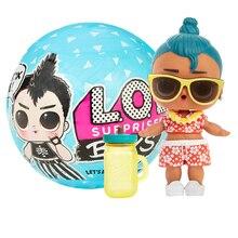 L.O.L. Surprise! Garçons série poupée avec 7 Surprises accessoires boîte aveugle mignon jouets Collection drôle mode enfant jouets pour cadeau