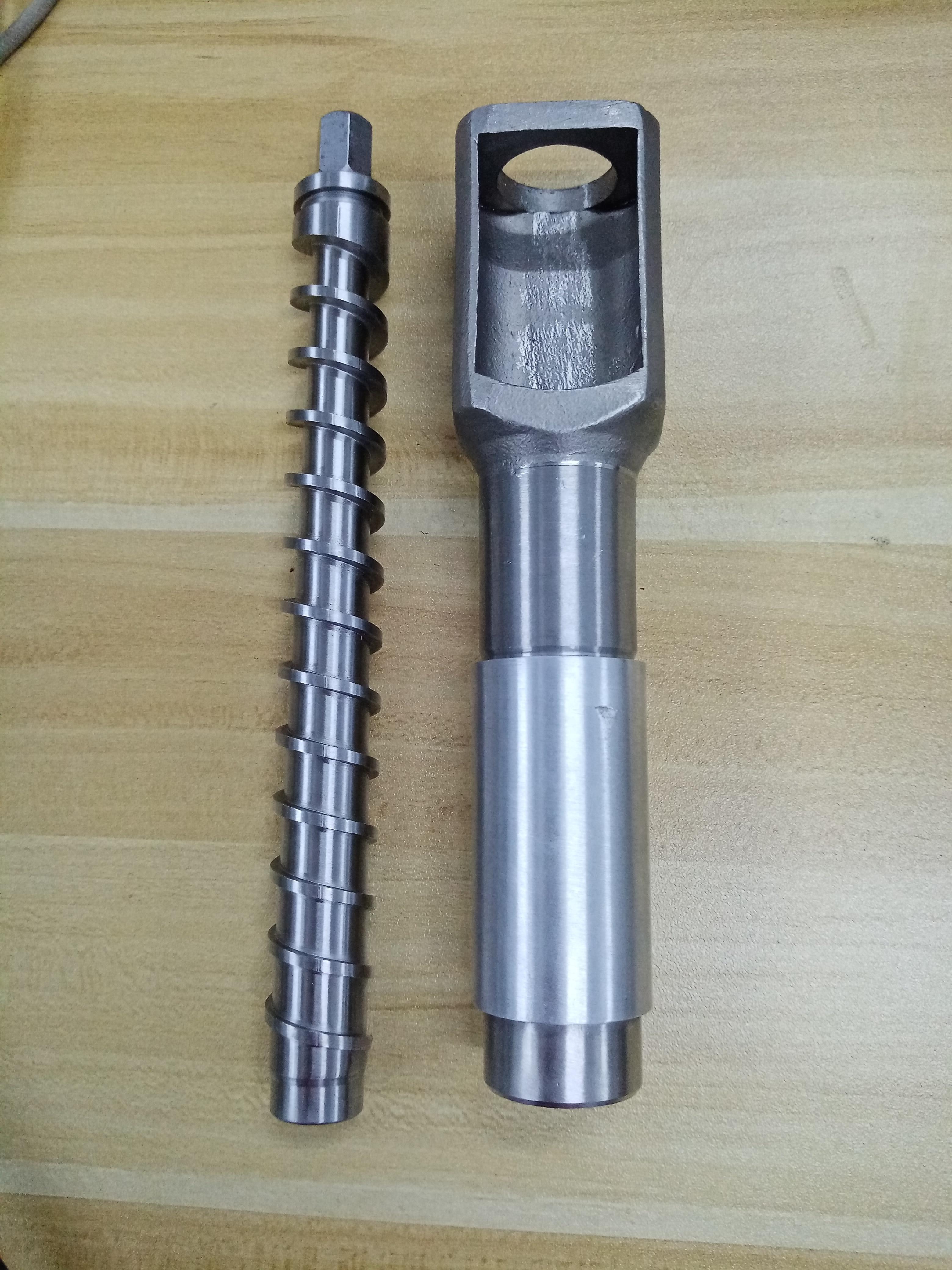 Oil press machine press rod and squeeze