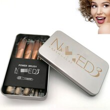 7Pcs Makeup Brush Set Case Face Eyeliner Eyebrow With Travel Case High Quality Small Make up Brush Sets