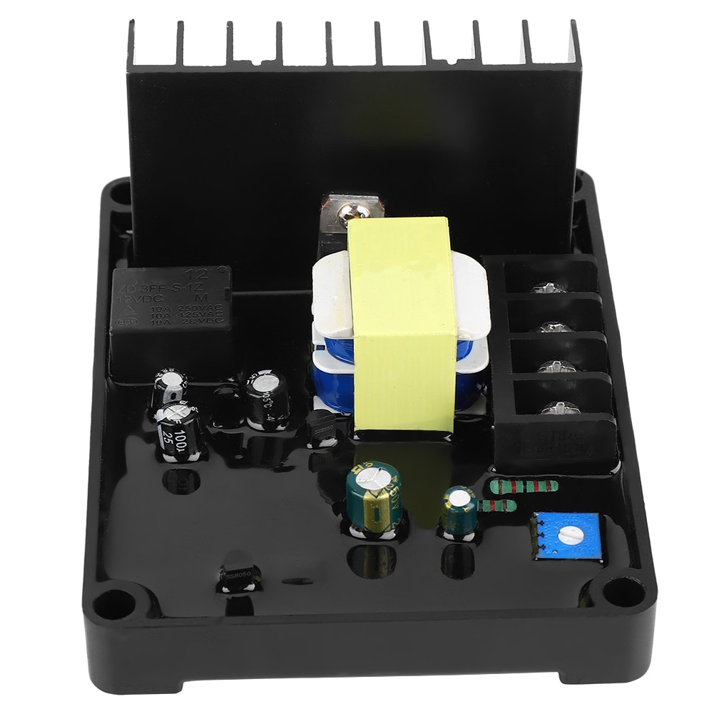 GB160 automático AVR regulador de voltaje para cepillo de fase única alternador St cepillado generador de regulador de voltaje automático