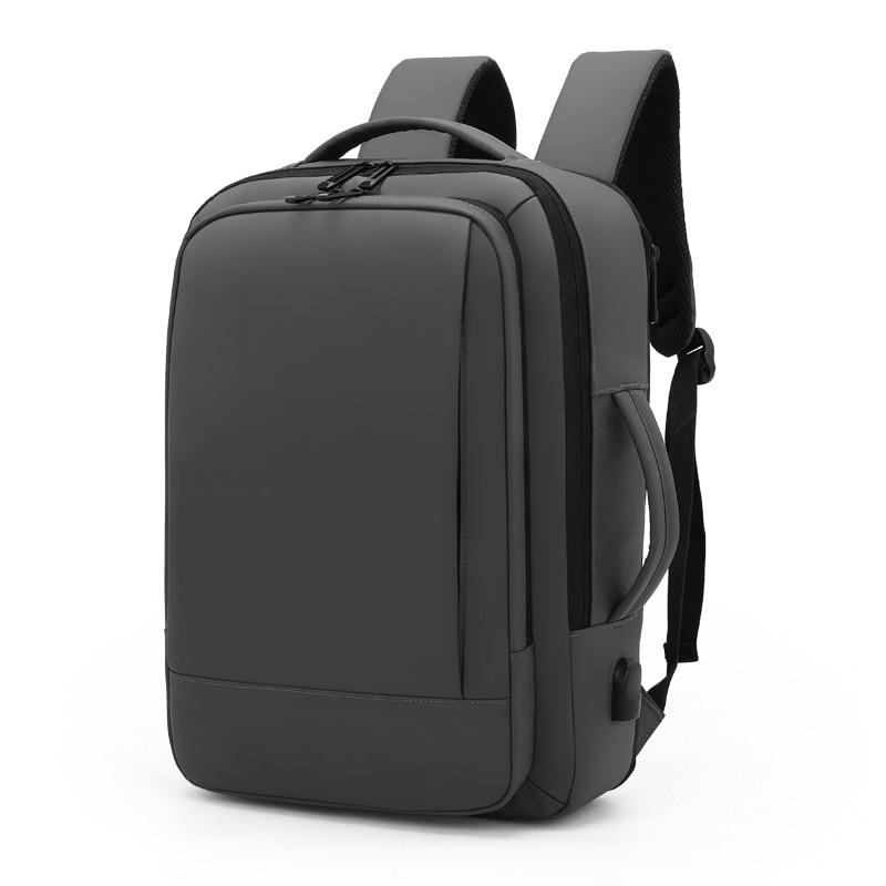 Черный классический мужской рюкзак для ноутбука, дорожный рюкзак, водонепроницаемый рюкзак для ноутбука 15,6 дюйма, рюкзак, мужские рюкзаки, ...
