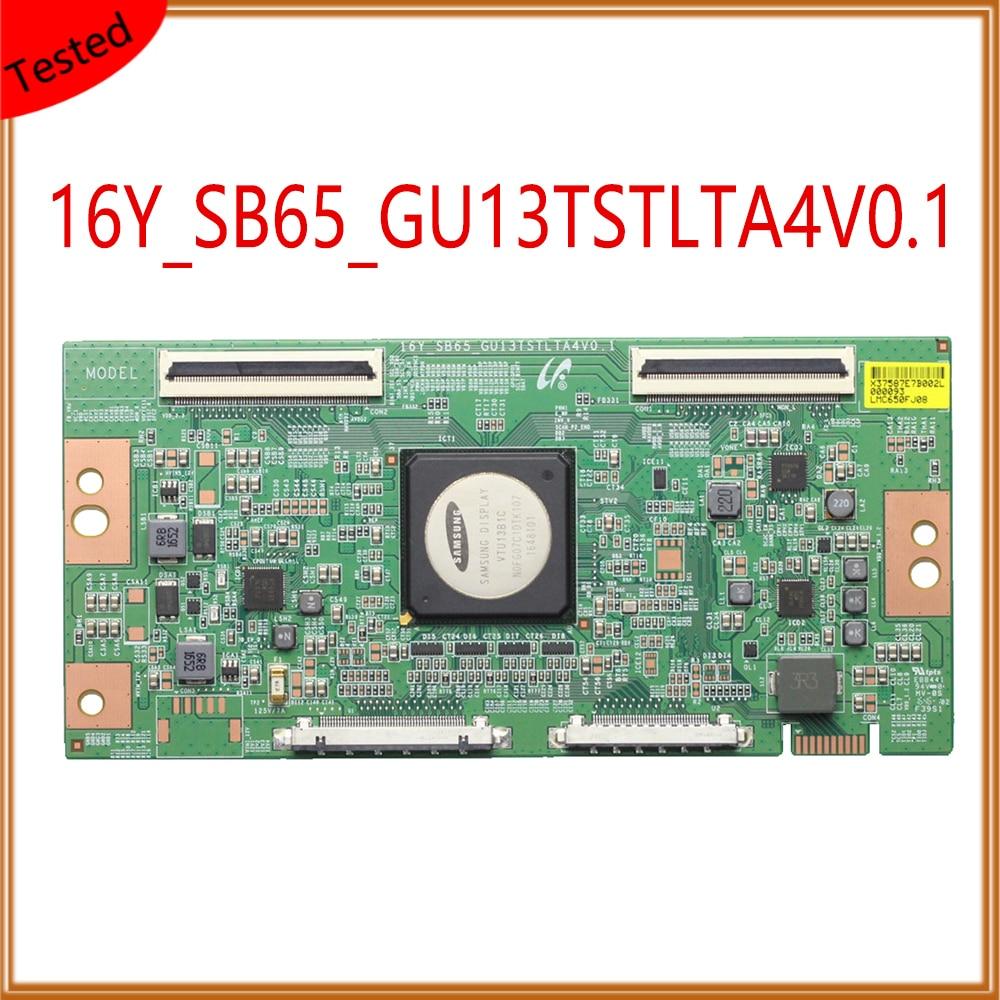 16Y_SB65_GU13TSTLTA4V0.1 Tcon المجلس لمعدات شاشة التلفزيون T Con بطاقة استبدال المجلس GU13TSTLTA4V0.1 الأصلي T-CON المجلس