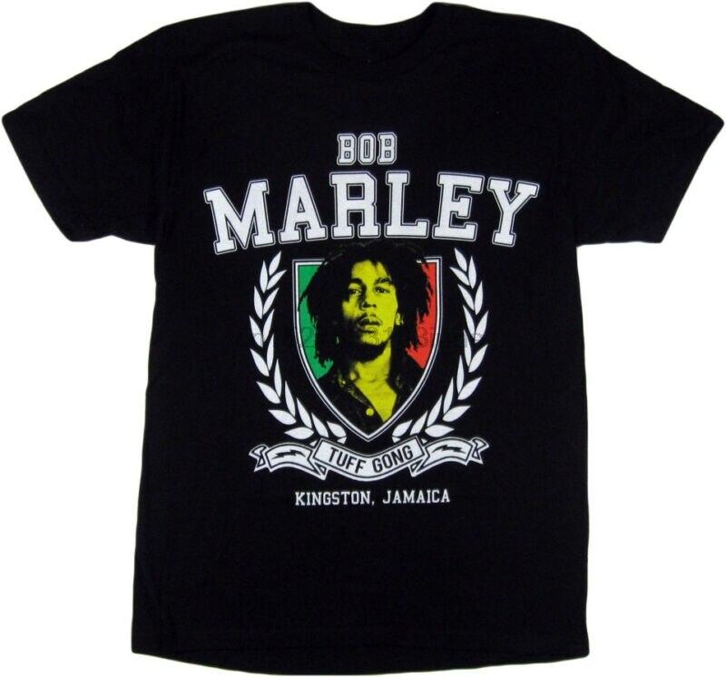 Zion ropa interior hombres Bob Marley Tuff Gong camisa negro