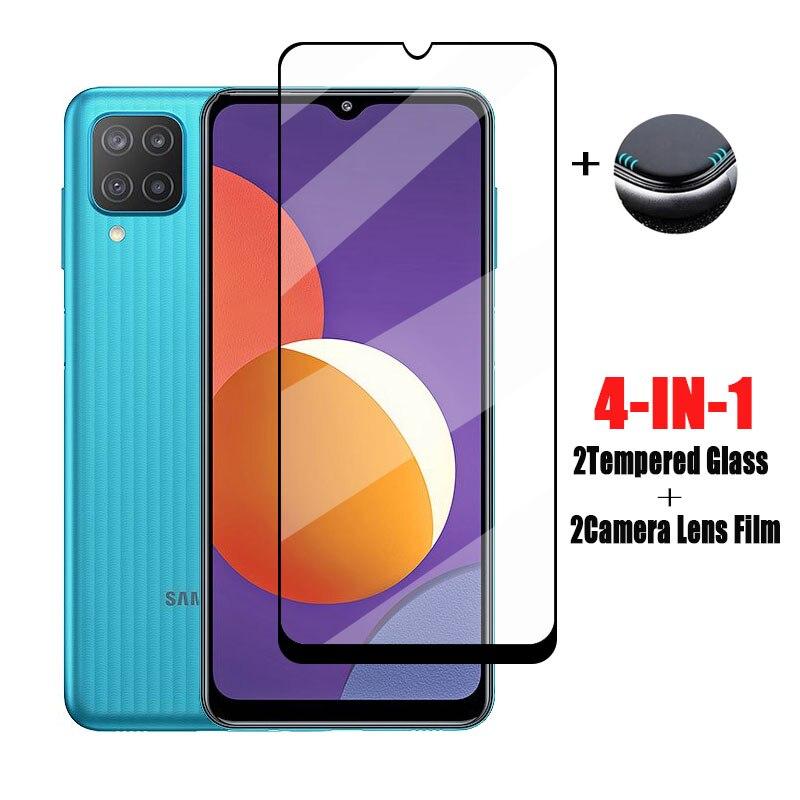 Pełne szkło klejowe do Samsung Galaxy M12 M62 szkło hartowane do Galaxy M62 folia ochronna do telefonu Samsung Galaxy M62