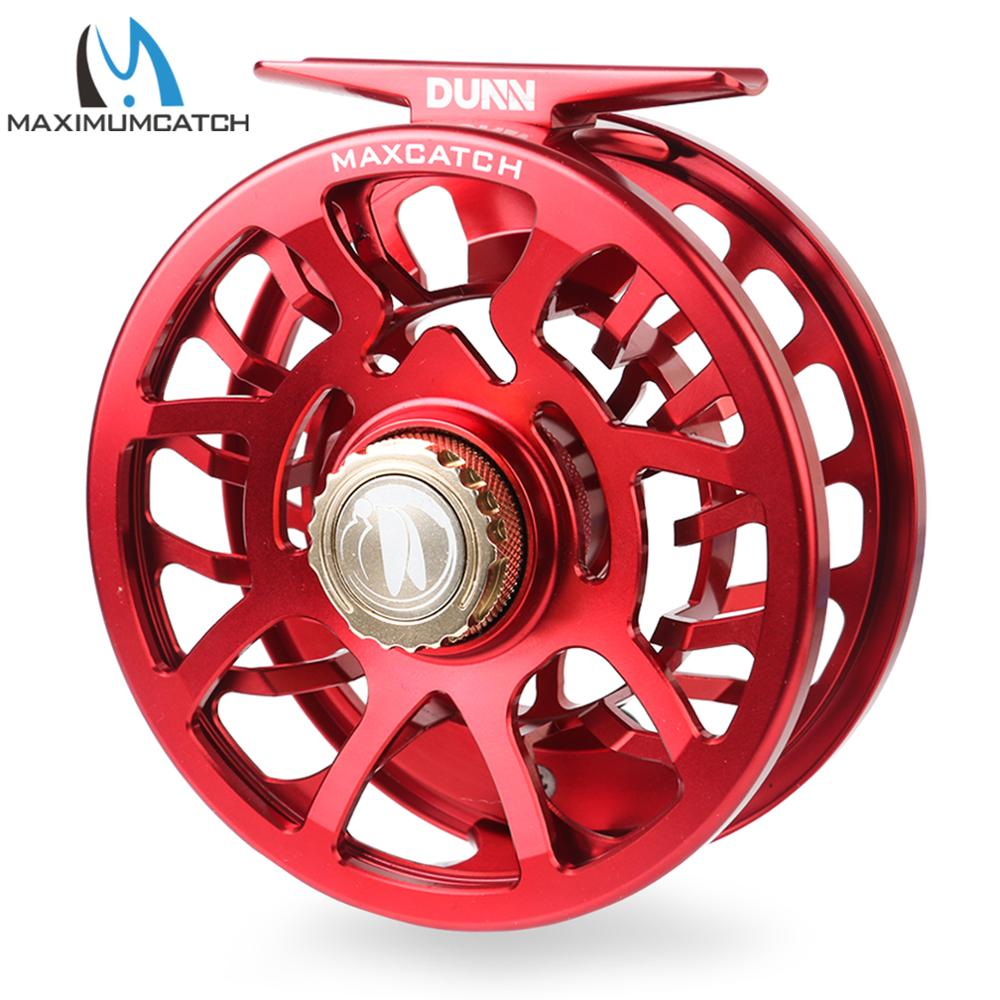 Maximumcatch Dunn Fully Sealed Waterproof Fly Fishing Reel CNC Machined Maintenmance-free Drap System Ultralite MAXSDS Fly Reel enlarge