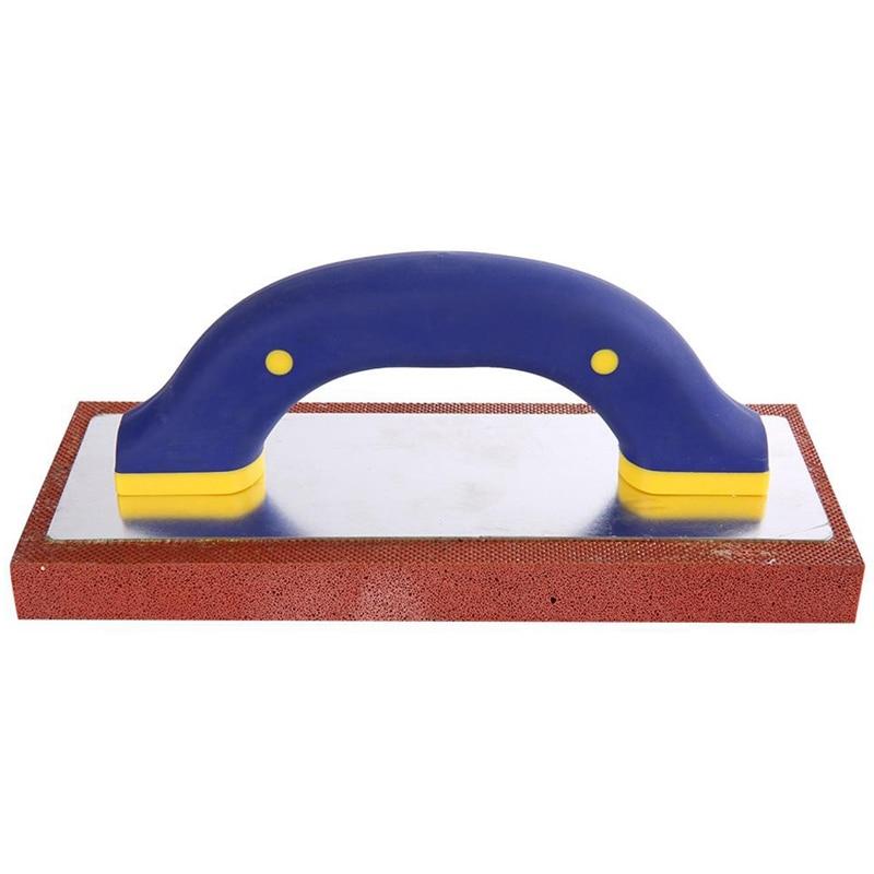 Paleta profesional de enyesado, baldosa, suelo de lechada, herramienta de flotación, herramientas de construcción