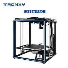 Tronxy X5SA Pro Quiet Drive 3D Printer OSG Double Axis External Guide Rail Desktop DIY Kits Titan Extruder Printing TPU Filament