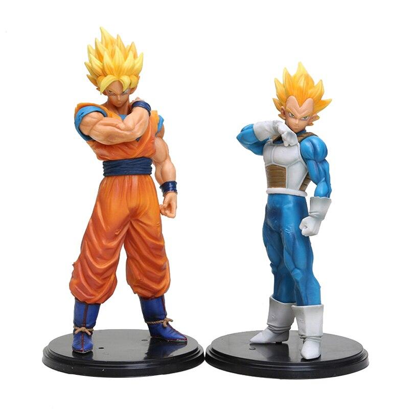 Dragon Ball Z Goku Vegeta Action Figure Toys Dbz PVC Figure Model Toy Brinquedos For Christmas Gift