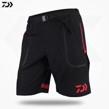 Daiwa pantalon vêtements dété vêtements de pêche hommes sport hommes pantalons vêtements de pêche résistant respirant Shorts de pêche vêtements daiwa