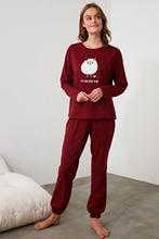 Ensemble de pyjama tricoté brodé Trendyol THMAW21PT0575