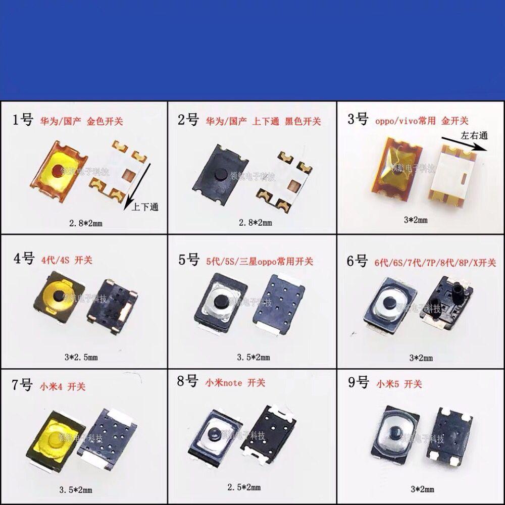 OPPO VIVO Smartphone LG Home Menu Do Botão Interruptor Oneplus Anel Interno Controle de Volume Silencioso Motherboard Reparação Parte Interna FPC