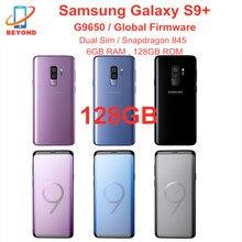 """Samsung Galaxy S9 Plus S9 + G9650 double Sim 128 go ROM 6 go RAM Octa Core 6.2 """"NFC Snapdragon 845 téléphone Mobile débloqué dorigine"""
