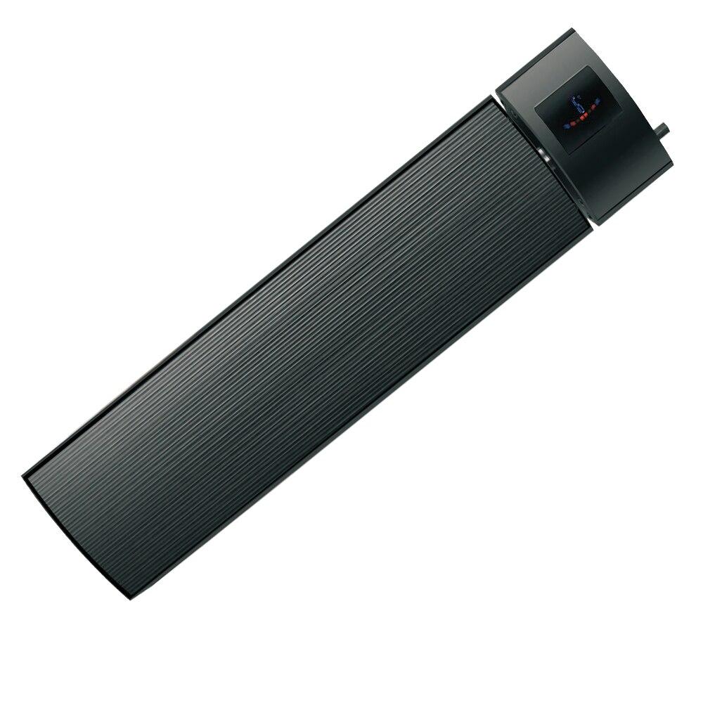 Envío Gratis Honyee negro infrarrojo radiante calentador eléctrico 2400W impermeable ahorro de energía para hotel yoga interior/exterior jardín