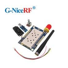 2 sätze/los SA828 UHF 400-480MHz Ultra Kleine Größe Walkie Talkie Modul Kit (Einschließlich USB Konverter, antenne, Lautsprecher, Drehschalter