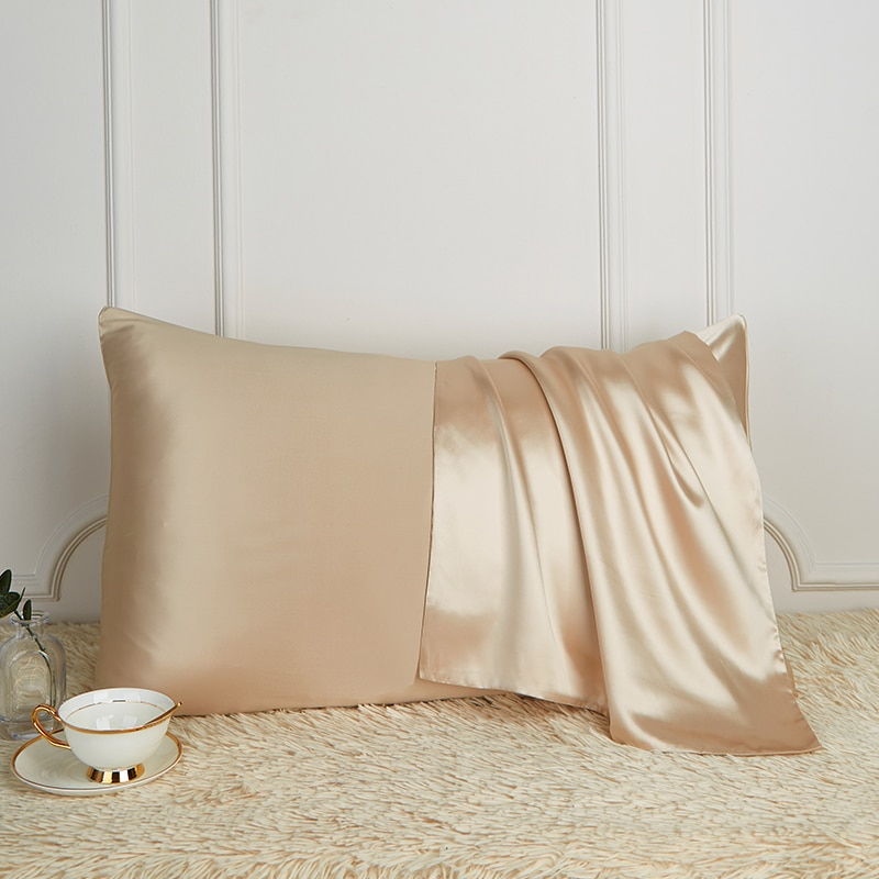 100% pure silk pillowcase real natural mulberry Free Shipping