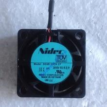 Japan Nidec 4015 DC12V 0.15A 1.8W D04R-12TH 17B (Ex) 4 Cm Koelventilator 8000 Rpm 8.48CFM 62Pa Air Blower