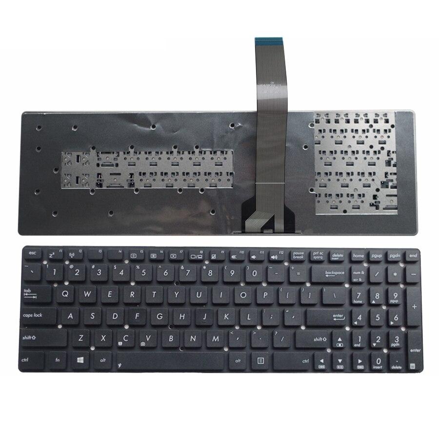 Новая клавиатура для ноутбука ASUS K55A K55VD K55VJ K55VM K55VS A55V A55XI A55DE A55DR R700V A55VM A55VD A55VJ US на английском языке