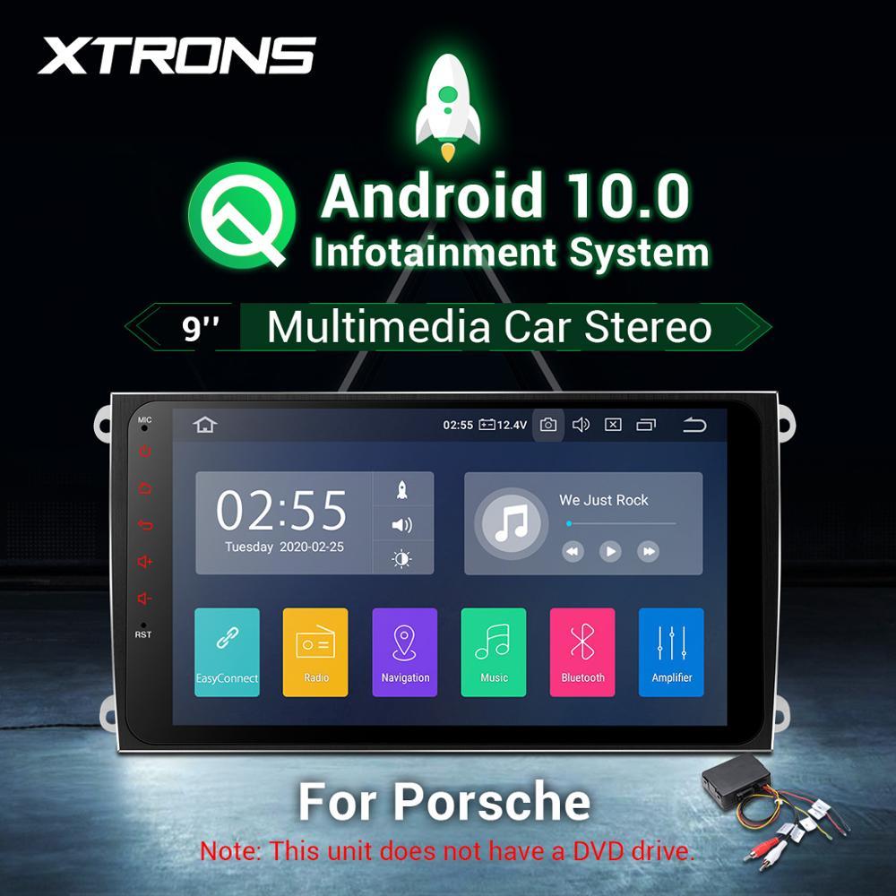 9 player obd android 10.0 carro multimídia rádio estéreo jogador gps obd usb para porsche cayenne 2003-2010 s gts turbo diesel nenhum dvd