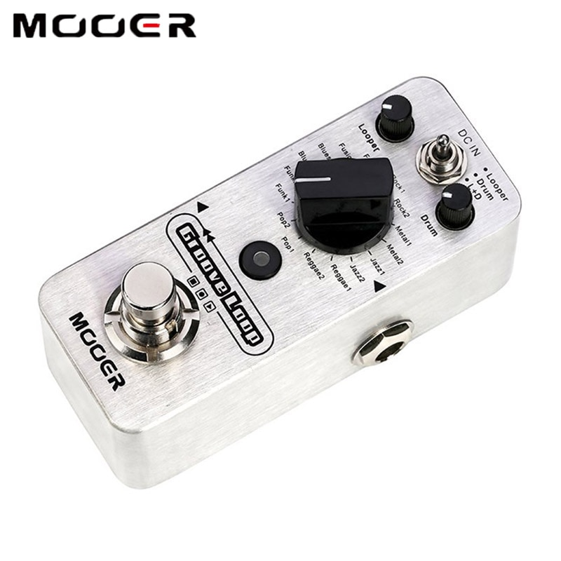 Mooer 20 Min Groove Loop Pedal Looper Switcher for Electric Guitar Pedals Music Pedalboard Guitar Parts Phrase Loop Drum Machine enlarge