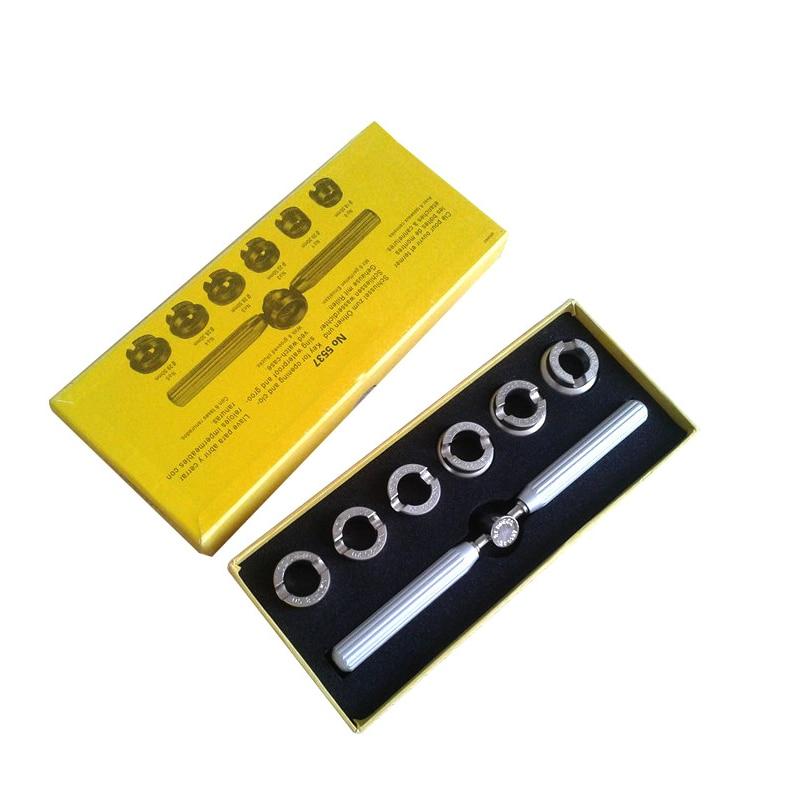 Ferramentas de Relógio de Pulso Abridor de Relógio Ferramenta de Reparo Relógio de Volta Case para Rolex Kit de Reparo do Relógio Fácil Aberto Tlsm 7 Pçs