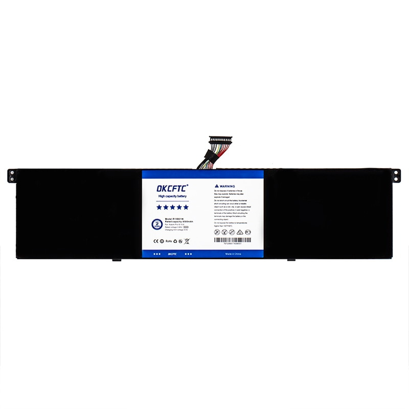"""OKCFTC R15B01W New Laptop Battery For Xiaomi Pro 15.6"""" Series Notebook 7.6V 9500mAh 60.04WH enlarge"""