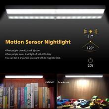 New Motion Sensor Night Light 10 LED Closet Lights Battery Powered Wireless Cabinet IR Infrared Motion Detector Wall Lamp