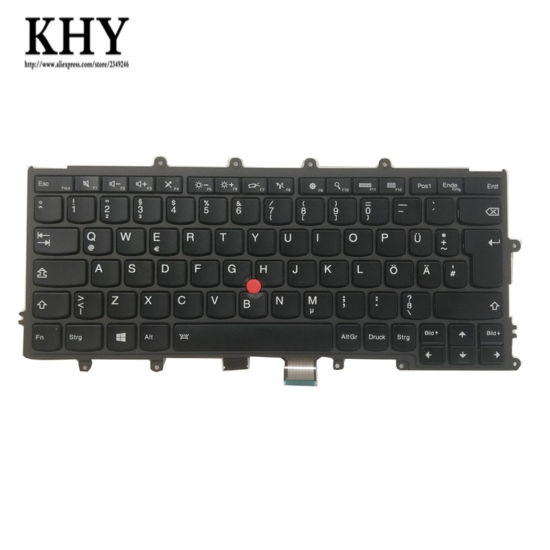 Nuevo Teclado retroiluminado Original para Thinkpad X230S X240 X250 X260 X270 diseño estándar europeo