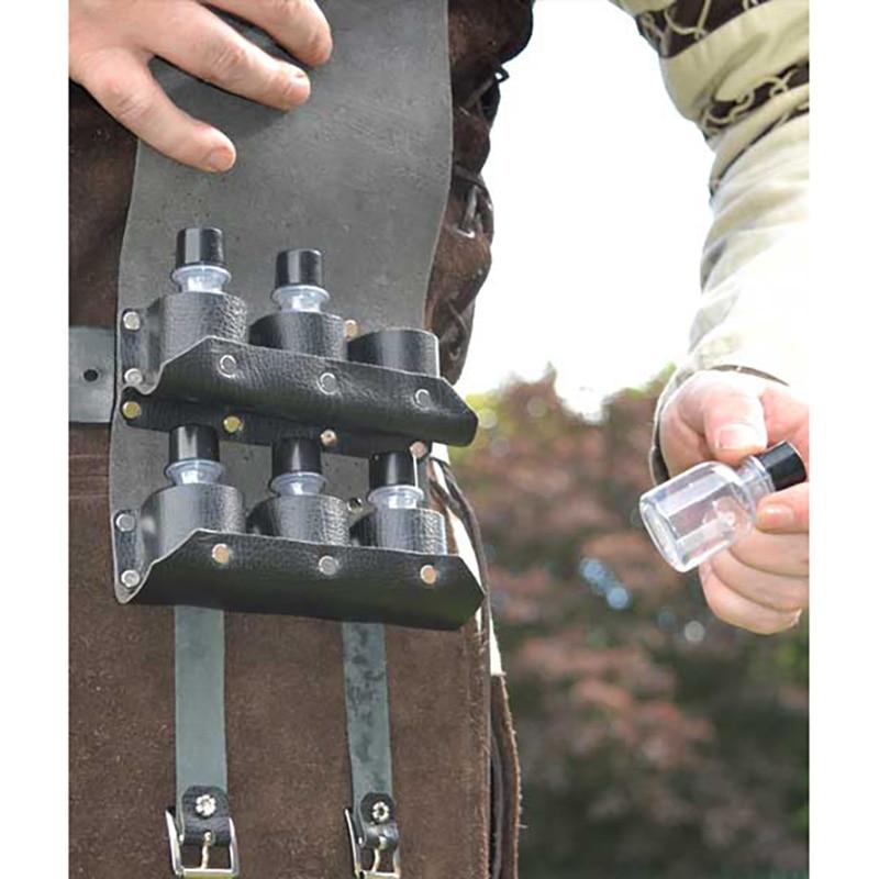 حقيبة يد من جلد Steampunk ، لارتدائها مع بدلة ، حزام من القرون الوسطى ، حقيبة فيال ، طقم معالج كيميائي ، حقيبة تأثيري ، إكليل عصر النهضة ، جيب