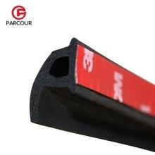 4 м P Тип 3 м клейкая лента Автомобильная Звукоизоляция Уплотнительная резиновая полоса Автомобильная дверь противоскользящее уплотнение Пылезащитная уплотнительная лента