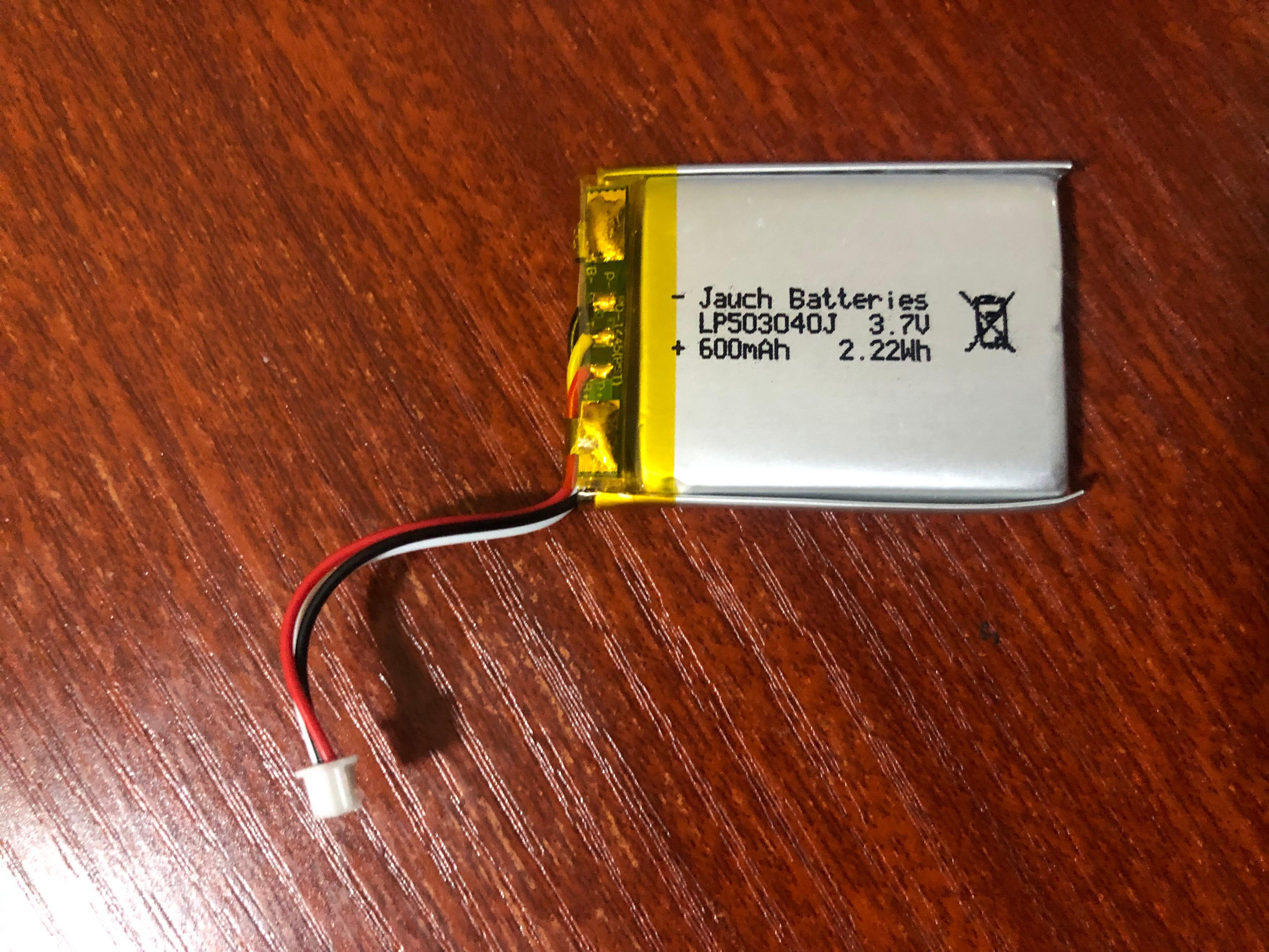 10 قطعة/الوحدة 3.7V 600mAh بطارية ل آي بود ميني 4GB الجيل EC003 EC007 M9802 M9806 M9807 W065 A105