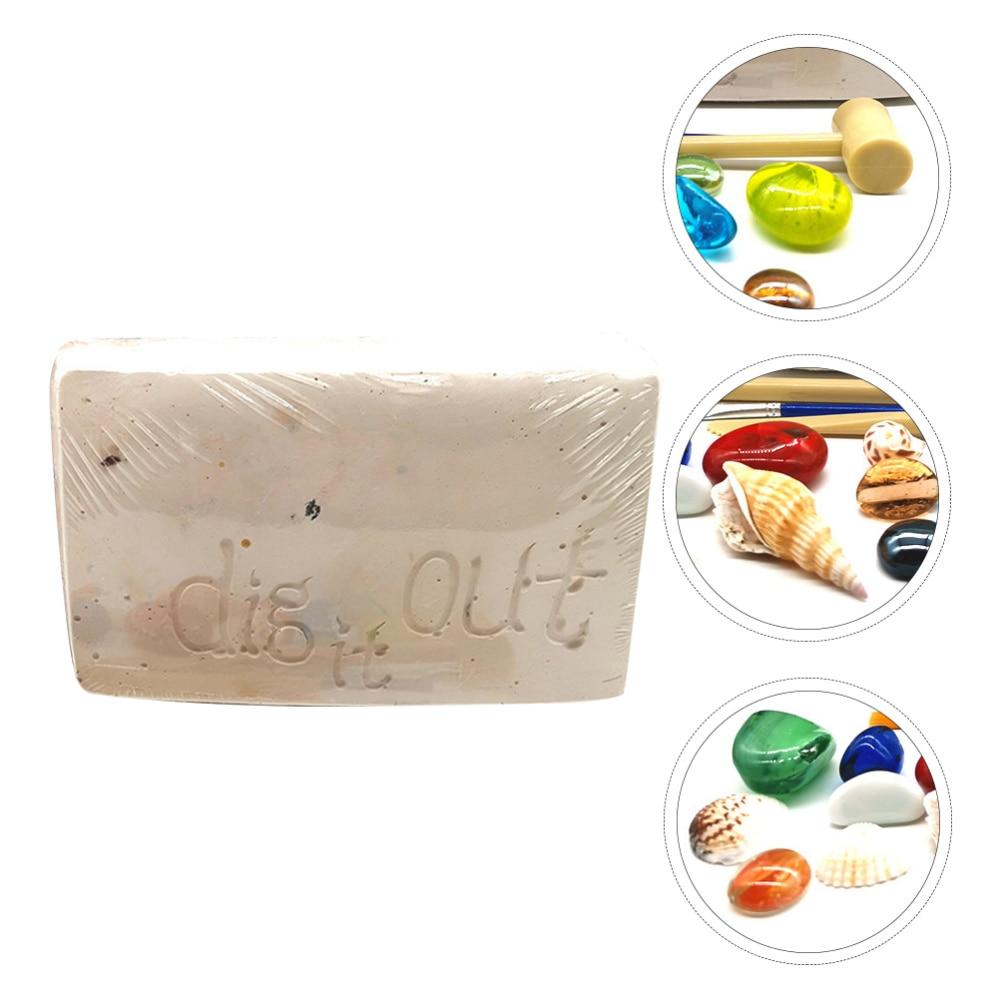 1 conjunto de escavacao diy de pedras preciosas para imitacao de arqueologia presente para criancas
