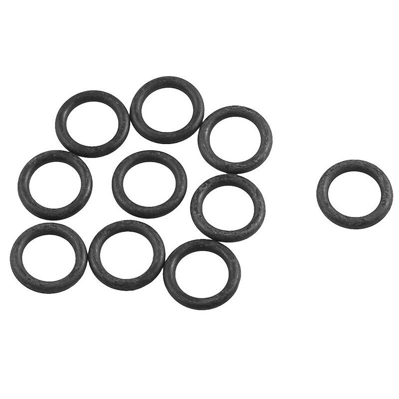 10 Uds 16,5mm x 11,2mm goma Flexible junta tórica junta de aceite negro
