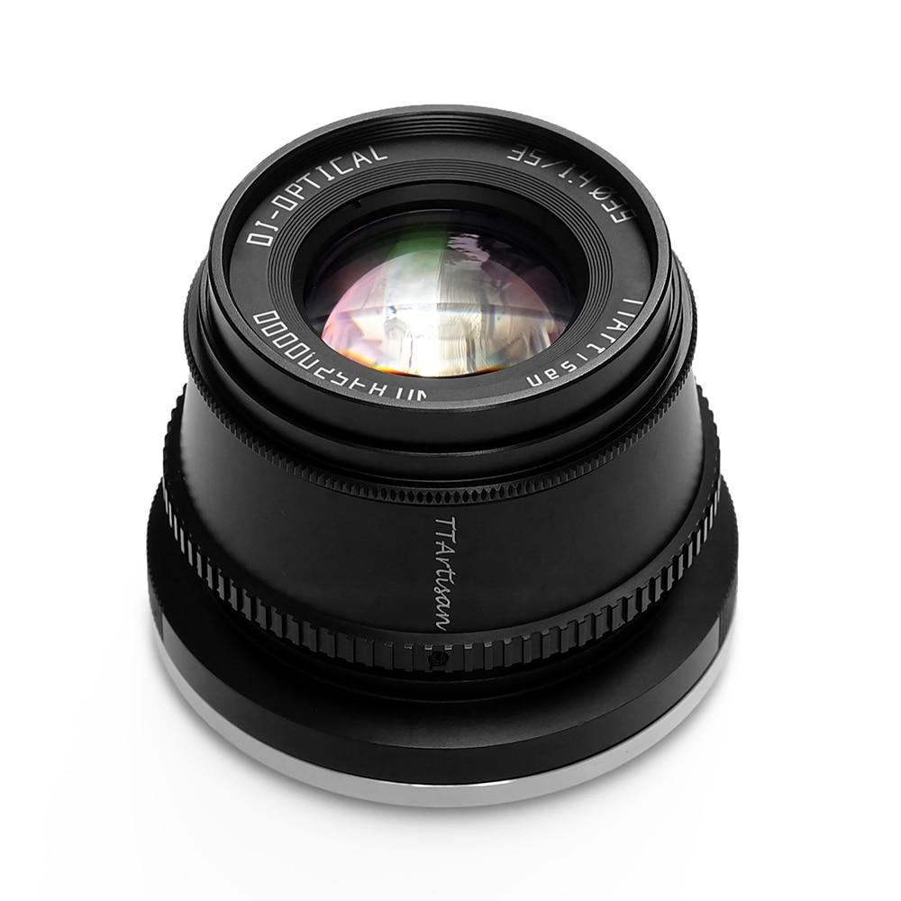 TTArtisan 35mm F1.4 APS-C Lens For SONY E FUJI X Nikon Z Canon M Camera MF Lens For Panasonic Olympus M4/3 Leica L mount Camera enlarge