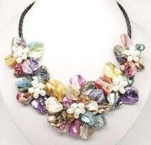 Bijoux nobles Charmming! 8-9mm collier de perles de culture blanche deau douce bricolage femmes offre spéciale bijoux