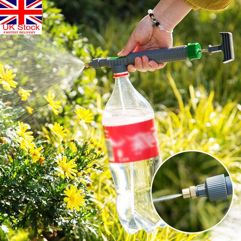 Pro Sprayer Juice Bottle Interface Plastic Trolley Gun Spray Head Water Pressure