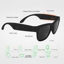 Conduction osseuse Bluetooth Sport intelligent lunettes de soleil sans fil stéréo musique lunettes de soleil FKU66