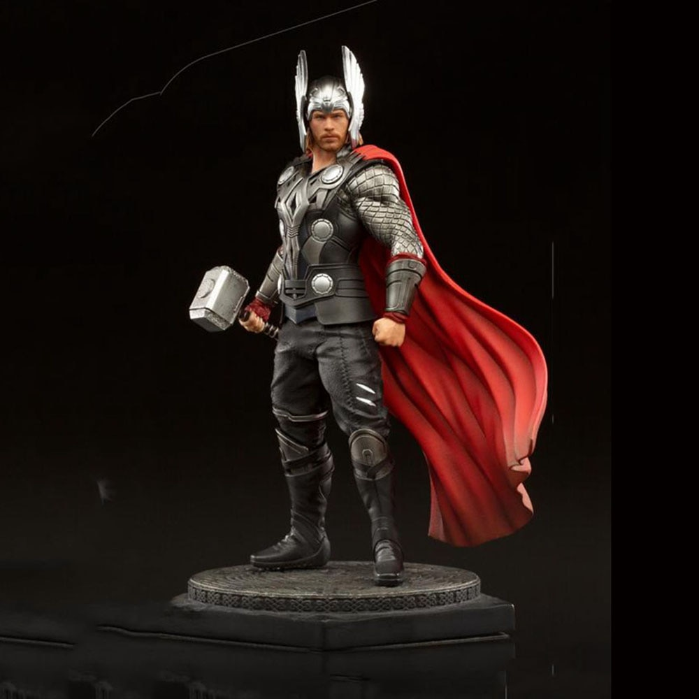 In Stock Collectible Iron Studios 1/10 Chris Hemsworth Movie Appearance Figure Statue 736532715647 2020 CCXP Ver. Full Set Model