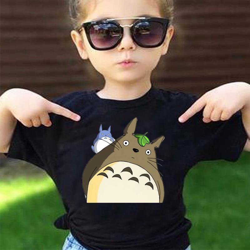 AliExpress - Children Anime Print Totoro Funny Tshirt Boys and Girls Summer Clothes Kid Soft White T-shirt Baby Fashion Black Girls Shirts
