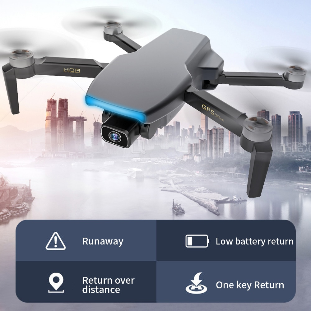 FEMA S3 Pro GPS Drone With Camera 4k HD 5G WiFi dron Brushless FPV drone 25mins Long Distance 1km professional quadcopter enlarge