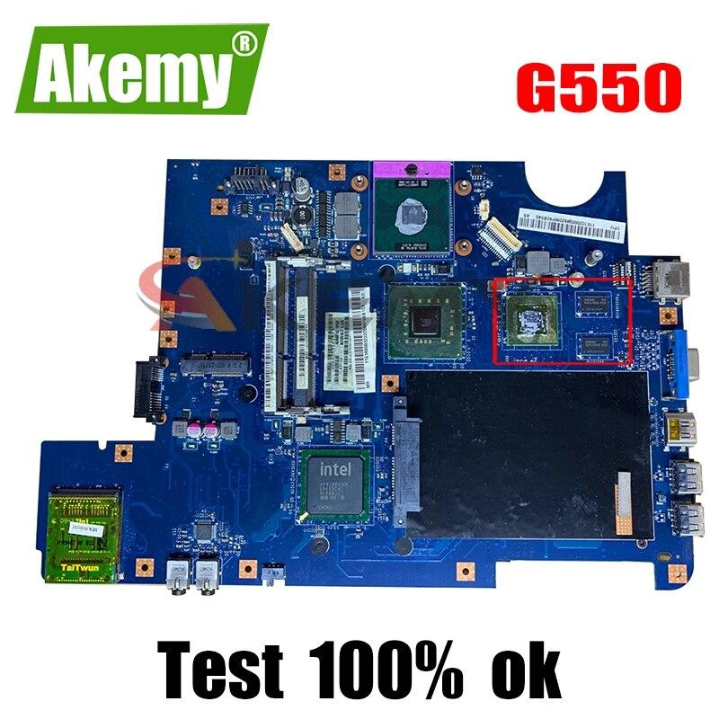 اللوحة الأم للكمبيوتر المحمول لينوفو Ideapad G550 HDMI اللوحة الرئيسية KIWA7 LA-5082P DDR3 N10M-GE1-S