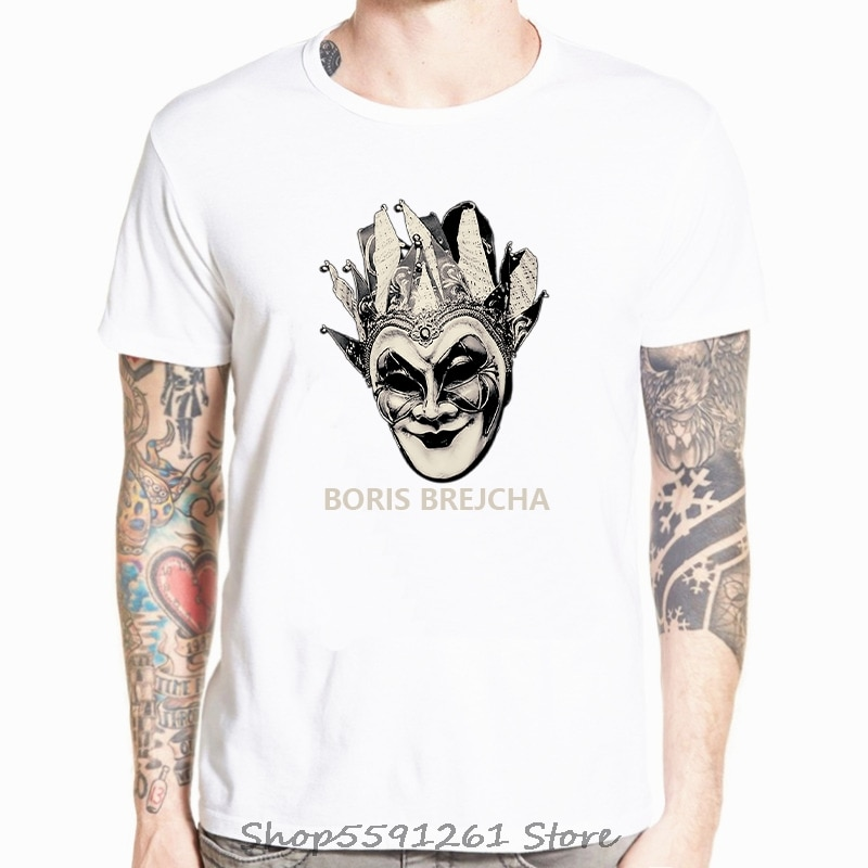 DJ BORIS BREJCHA T-SHIRT High-Tech Minimal Techno Music Unisex Women & Kids A37 Cartoon t shirt New Fashion tshirt Tops Tees