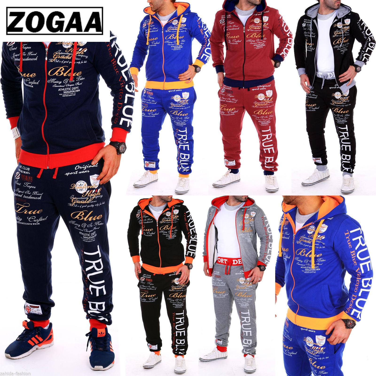 ZOGAA New Multicolor Men's Sports Suit Casual Comfort Sports Suit Men's Sports Jacket Ropa Hombre 2021 Sweat Suits Men Zipper