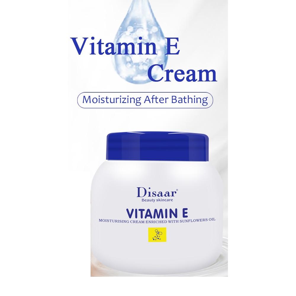 200ml Disaar Best Moisturizing Skin Care Cream Vitamin E Sunflower Oil Whitening Body Lotion AntiAging LongLasting After Sun