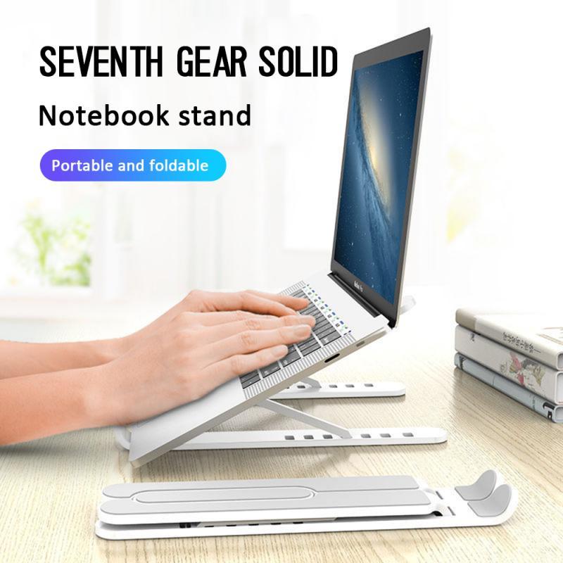 Soporte ligero para portátil, soporte plegable portátil, soporte ajustable de aleación de aluminio para MacBook Air Pro, ordenador portátil, PC